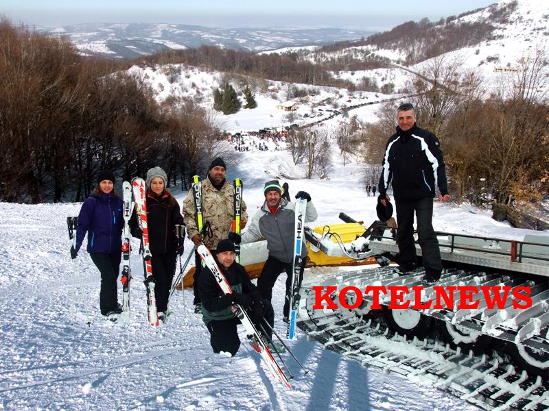 kotel ski pista 2