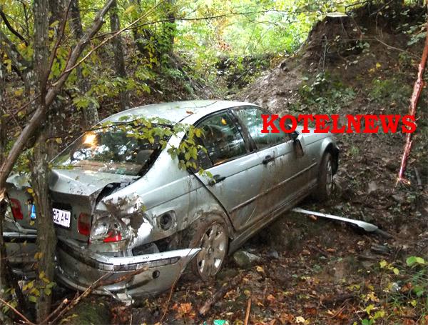 katastrofa BMW Ticha Kotel 1