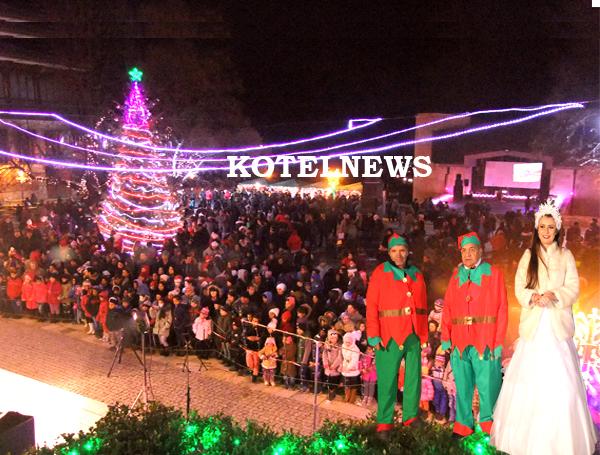Светлините на коледната елха в Котел ще бъдат запалени на 10 декември